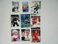 Jimmy Carson `87/88 OPC Mini Rookie Card 9 Card Lot  Kings/Oilers/Whalers/Wings