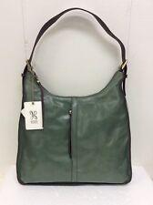 Hobo Bags Marley Leather Moss Green Purse Handbag Shoulder Bag New Retail $268