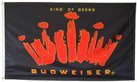 """Huge 36/"""" x 60/"""" BUTTWEISER FLAG cloth poster Flag BUTWEISER beer banner 3/'x5/'"""