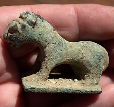 Ancient Iron Age Luristan Bronze Tiger Statue