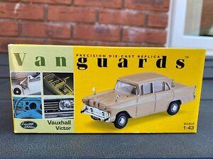 Vanguards VA38004 Shantung Beige Vauxhall Victor - Mint In Box