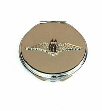 RAF Royal Air Force British  Compact Handbag Mirror Gift FREE ENGRAVING BGK2