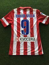 Nike Atletico Madrid David Villa Match Worn Shirt Camiseta Indossata Trikot