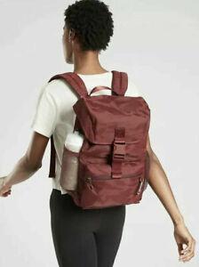 ATHLETA  Venture Utility Backpack 2.0 NWT - Cognac Brown Camo $138 #530591