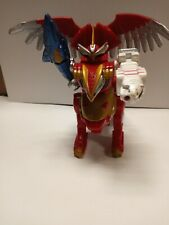 """Red Lion Megazord Power Rangers Wild Force 5.5"""" Zord Action Figure 2001 Bandai"""