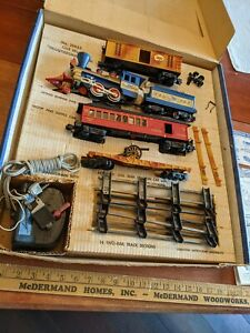 Vint. American Flyer #20655 Wash Frontiersman Elec. Train Set w/ Box Washington