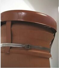 MAD Capping Cowl Terracotta, Chimney Cap with Strap Fixing