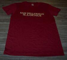 WOMEN'S TEEN SAM HELLERMAN IS A GENIUS Dr Frank Portman King Dork T-shirt MEDIUM