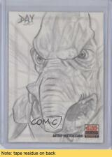 2010 Topps Star Wars Galaxy Series 5 #DDWA David Day (Watto) READ Card 3n6