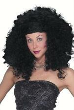 """Deluxe Black Glamour Pop Star """"Christina"""" Costume Wig"""