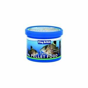 King British Catfish Pellets Bottom Feeder Aquarium Tropical Food 65g
