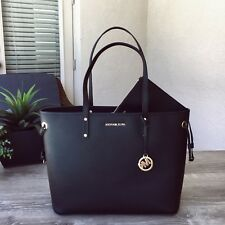 NWT Michael Kors Jet Set Travel Large Drawstring Tote 2 IN 1 Bag with Pouch