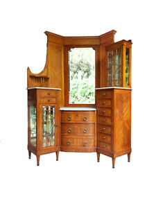 Gorgeous French Marquetry Corner Cabinet - 1900 - 1910.