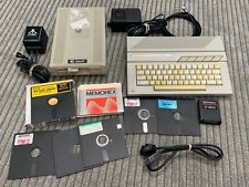 Atari XF551 Floppy Disk Drive & 130XE Keyboard Computer Power Supply Lot *AS-IS*