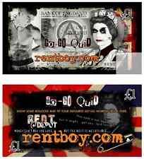 Rentboy.com Collectable Framable Artwork Gogo Quid