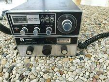 LOT of 2 CB Radios Midland Model 13-882c & Johnson Messenger 123A. 23 Channel