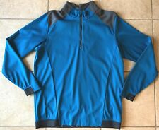 Ping Golf Half-Zip Sensorwarm-Vermillion Pullover Top Shirt-Blue-Large-Nwt