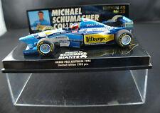 Minichamps ◊ Benetton B195 GP Australia 1995 ◊Schumacher 1/43 ◊ boxed / en boîte