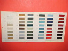 1964 CHEVROLET CORVETTE CADILLAC BUICK PONTIAC OLDSMOBILE INTERIOR PAINT CHIPS