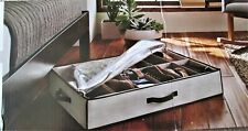 New Threshold Under Bed Storage Organizer - Holds 12 Pairs Shoes