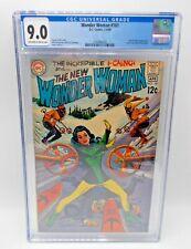 Wonder Woman #181 1969 [9.0 CGC] Dr Cyber Apperance High Grade Silver Age