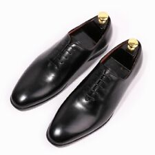 Retro Mens Real Leather Casual Dress Formal Oxfords Business Wedding Work Shoes