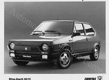 1980 FIAT RITMO ABARTH 125 TC PRESSEBILD PRESS PRENSA PRESS PICTURE ORIGINAL