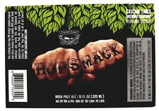 Cascade Lakes Brewing HOPSMACK - INDIA PALE ALE beer label  OR 12oz