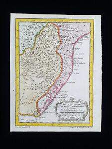 1754 J.N. BELLIN: SOUTH AMERICA, BRAZIL, BRASIL, PARAGUAY, LA PLATA, RIO