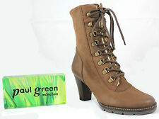 Paul Green Damenstiefel & -Stiefeletten mit Blockabsatz aus Echtleder für Mittlerer Absatz (3-5 cm)