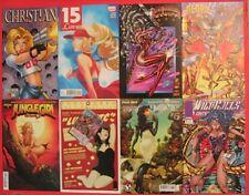 8 GGA Comics Lot Christian 15 Love Glory Angela Jungle Girl WildC.A.T.S. & MORE