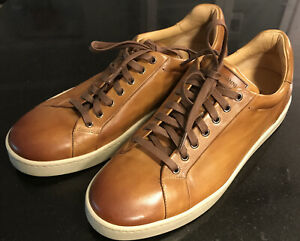 Magnanni Elonso Lo Fashion Sneakers size 10 US Tan New. Worn Once!