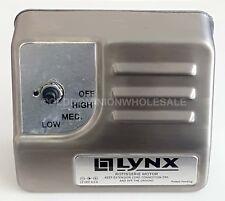 New Lynx 3-Speed Rotisserie Grill Motor Stainless Steel 12 VDC 0.5A 80277