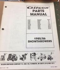 gilson outdoor power equipment manuals guides ebay rh ebay com Western Plow Wiring Diagram Gravely Wiring Diagrams