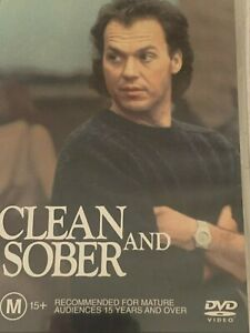 Clean And Sober - Michael Keaton DVD Like New