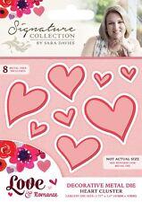 Signature Collection Love & Romance Heart Cluster Decorative Metal Die Set