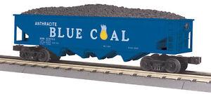 2013 MTH 30-79380 Anthracite Blue Coal  Hopper Car w/Operating Coal Load #358753