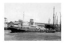 BATMAN tugboat Melbourne Victoria waters Modern Digital Photo Postcard