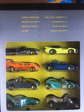 Hot Wheels 8 Car Designer Collection, Target Limited Edition, 1996 Series