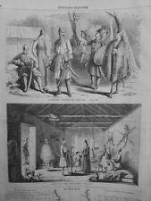 1860 UI GUERRIERS ABADSAQUES CAUCASE