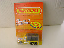 1987 MATCHBOX SUPERFAST MB30 PACE PETERBILT QUARRY DUMP TRUCK NEW MOC