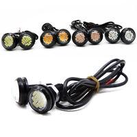 2X DC 12V 15W Eagle Eye LED Daytime Running DRL Backup Licht Car Auto Lampe L9Z7