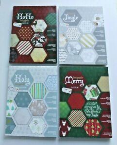 Christmas Xmas Design Pads Scrapbook Card 32 Sheets 21 x 15 cm 200gsm