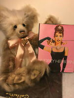 Charlie Bears 💘Gorgeous HEPBURN💘 L.Ed/Mohair. Adorable Bear ~ PLUS RARE BONUS!