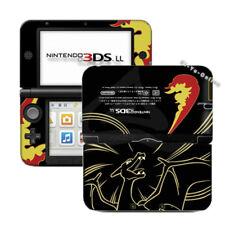 Nintendo 3DS XL Pokemon Charizard Black VINYL SKIN STICKER DECAL