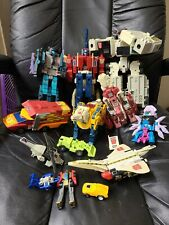 Large Vintage Lot Hasbro Takara G1 Transformers Retro 80's