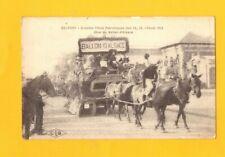 BELFORT (90) CHAR du BALLON D'ALSACE à la FETE PATRIOTIQUE animée en 1919