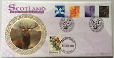 8.6.1999 Scotland Definitives FDC with IOM £1 Butterfly stamp, LTD 1/250, Deer.