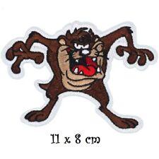 ÉCUSSON PATCH thermocollant - ANIMAL, Diable de Tasmanie, TAZ ** 11 x 8 cm **