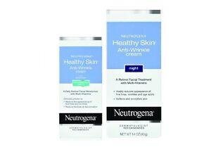 Neutrogena Healthy Skin Anti-Wrinkle Day Cream and Night Cream